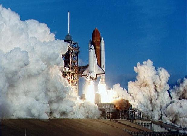 Image result for sts-41-c launch