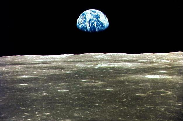 surface of moon as seen from earth - photo #39