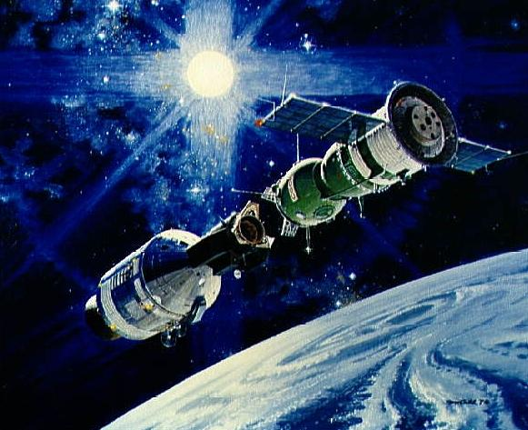 stages of apollo spacecraft docking - photo #24