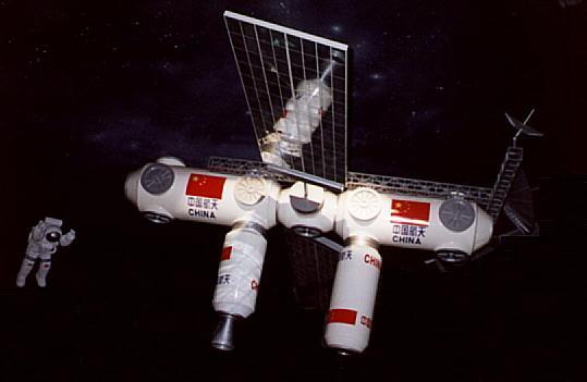 China apresenta planos de sua estação espacial