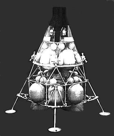 Image result for gemini lunar rescue lander