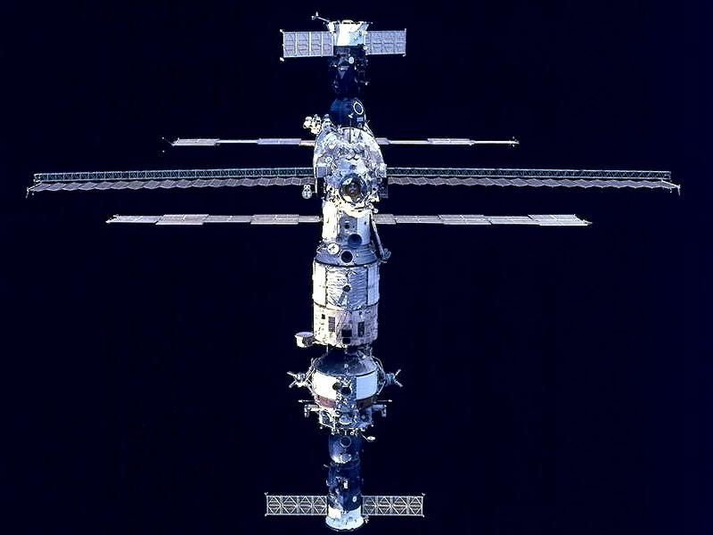 mir space station inside - photo #37