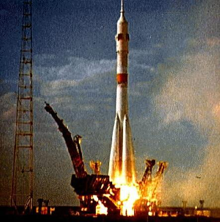 Image result for soyuz 9 launch