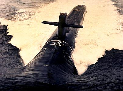 ssbn launching missile