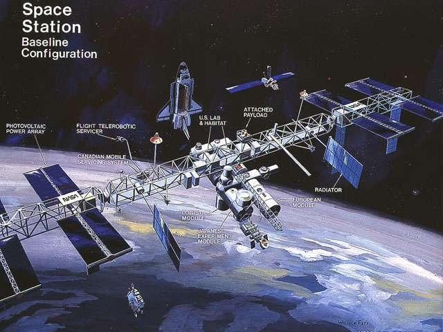 Image result for freedom space station