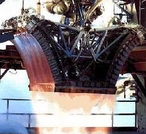 RS-2200 engine test