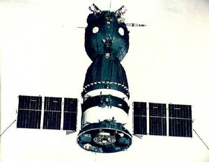 Soyuz ASTP in Orbit